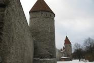 стены старого города Таллинна